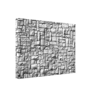 Stone Wall Gallery Wrap Canvas