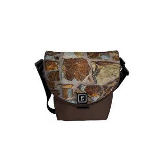 Stone Wall - Mini Messenger Bag Outside Print