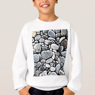 Stone Wall Rustic Rigid Tough Wall Art Fashion Nat Sweatshirt