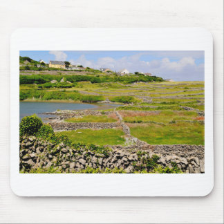 Stone Walls of Ireland Mouse Pad