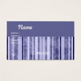 Stone Washed Denim Stripes Business Card