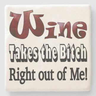 Stone Wine Coaster