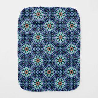 Stone Wonder Kaleidoscope  Burp Cloths