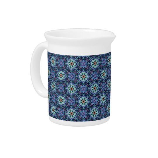 Stone Wonder Kaleidoscope    Porcelain Pitchers