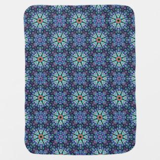 Stone Wonder  Tiled Design Baby Blankets Swaddle Blankets