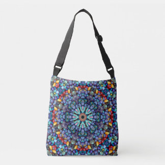 Stone Wonder Vintage Kaleidoscope  Cross Body Bag