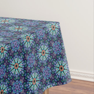 Stone Wonder Vintage Kaleidoscope     Tablecloth