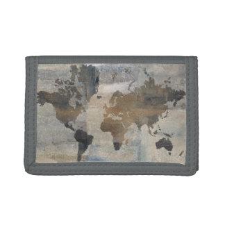 Stone World 6 Tri-fold Wallets