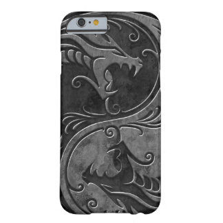 Stone Yin Yang Dragons Barely There iPhone 6 Case