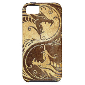 Stone Yin Yang Dragons iPhone 5 Case