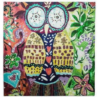 Stoned Owl Napkin