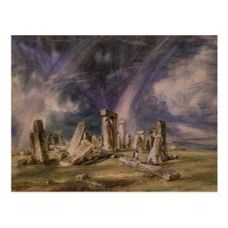 Stonehenge, 1835 postcard