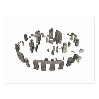 Stonehenge: 3D Model: Postcard