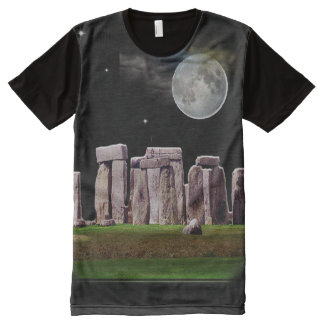 Stonehenge All-Over Print T-Shirt