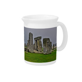 Stonehenge Ancient Historic Site of Power Beverage Pitcher