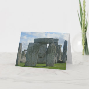 Stonehenge and London Greeting Cards