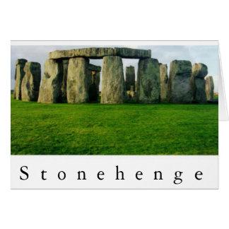 Stonehenge at Dawn II Card