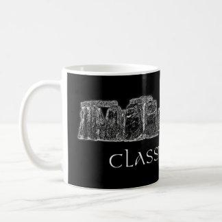 Stonehenge Classic Rock Black and White Mug