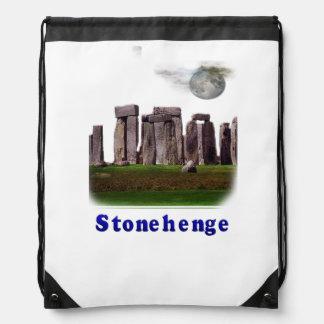 Stonehenge Drawstring Bag