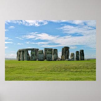 Stonehenge, England Poster