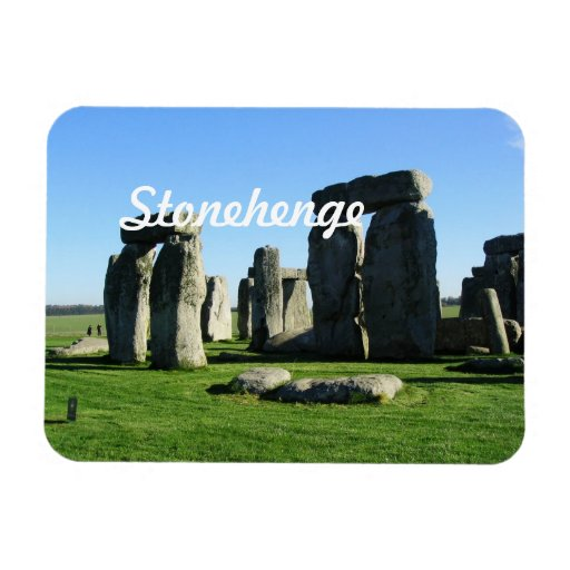 Stonehenge England Rectangle Magnets