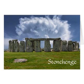 Stonehenge funny aging birthday card