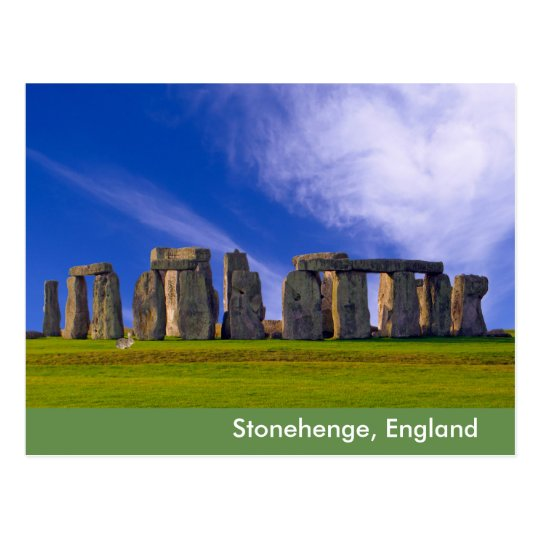 Stonehenge image for postcard