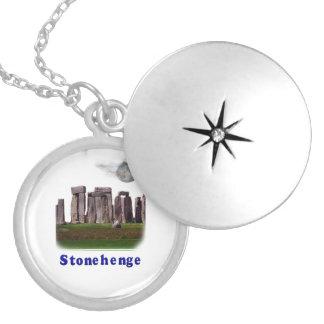 Stonehenge Locket Necklace