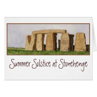 Stonehenge Note Card. Card