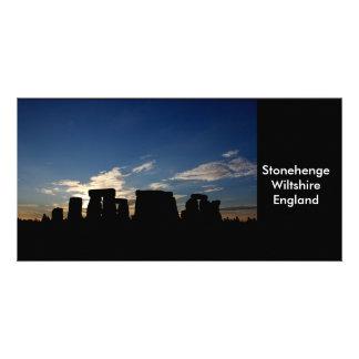 Stonehenge photo card