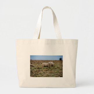 stonehenge sheep large tote bag