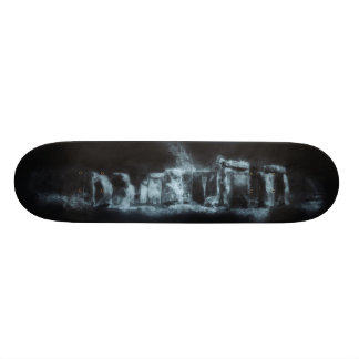 stonehenge skateboard deck