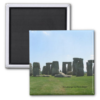 Stonehenge Square Magnet