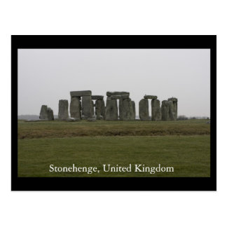 Stonehenge, United Kingdom Postcard
