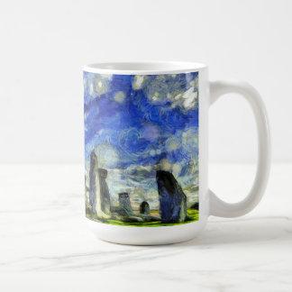 Stonehenge Vincent Van Gogh Coffee Mug