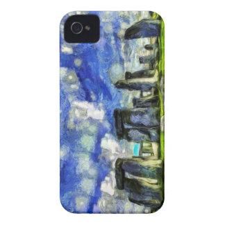Stonehenge Vincent Van Gogh iPhone 4 Case-Mate Case