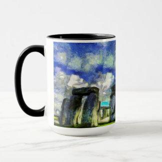 Stonehenge Vincent Van Gogh Mug