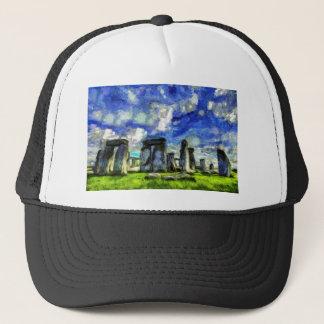 Stonehenge Vincent Van Gogh Trucker Hat