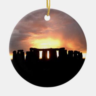 Stonehenge Winter Solstice Ornament