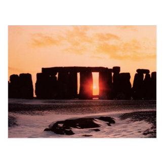 Stonehenge, Winter Solstice Postcard