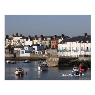 Stonehouse Quay, Plymouth postcard