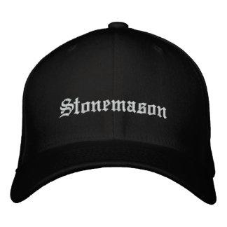 Stonemason Embroidered Hat