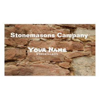 stonemason pack of standard business cards