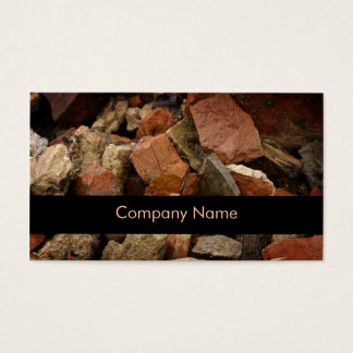 Stonemasons Business Card
