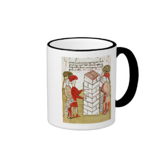 Stonemasons, from 'Traite d'Arpentage' Coffee Mugs