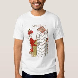 Stonemasons, from 'Traite d'Arpentage' Tshirt