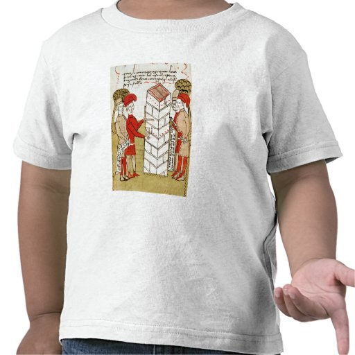 Stonemasons, from 'Traite d'Arpentage' T-shirts