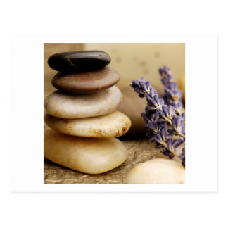 Stones and Lavender Postcard