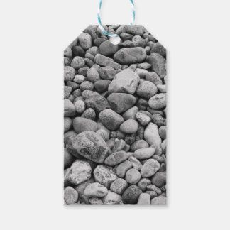 Stones at the Baltic Sea grey Gift Tags