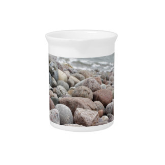 Stones at the beach/Baltic Sea/island reproaches Pitcher